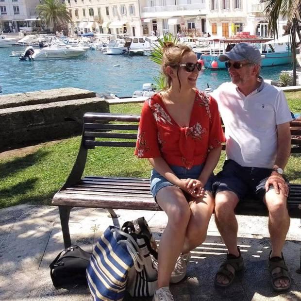 hvar me and dad
